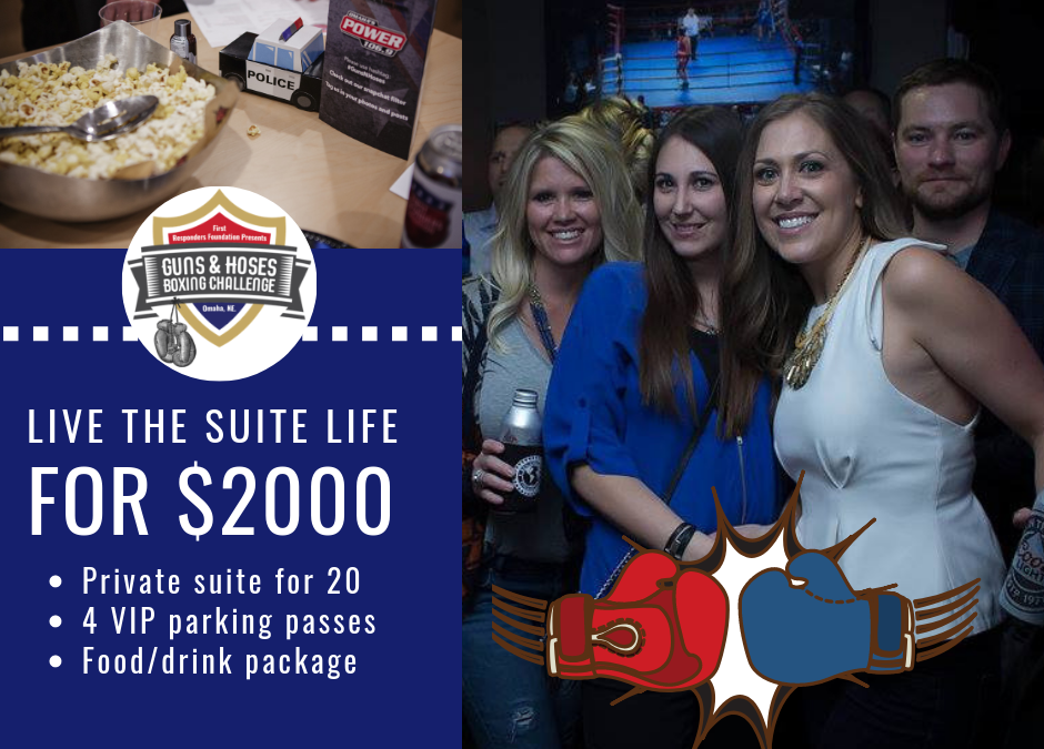 Live the Suite Life at Guns N Hoses!